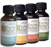 Oli essenziali balsamici Eschgfeller