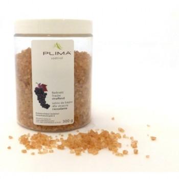 Sali da bagno all'estratto d'uva 300gr. Antiossidante e rassodante