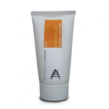 Crema solare naturale alta protezione Medicamina Sun. Base naturale ipoallergenica