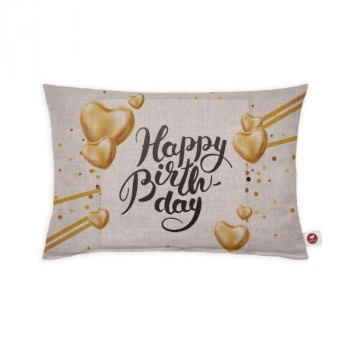 "Cuscino aromatizzato ""happy birthday"" 30x20"