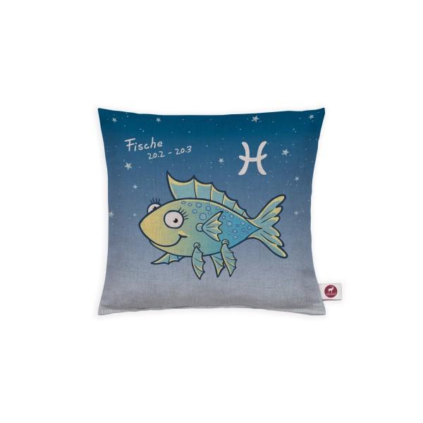 Sternzeichenkissen Fische 20x20