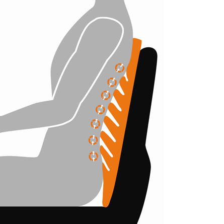 Cuscino trazione schiena