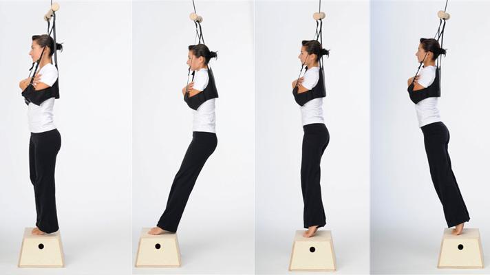 Esercizi schiena Tendo